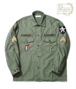 【予約】【ONLY ARK】別注 J.L. UTILITY SHIRT - ARKnets 25th anniversary MODEL -