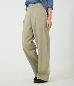 【レディース】CHINO HIGH WAIST PANTS