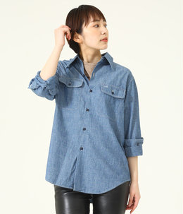 【レディース】HAMPTON CHAMBRAY SHIRT(OW)
