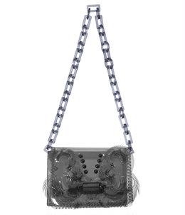【レディース】Transparent Sculptural Mini Chain Bag