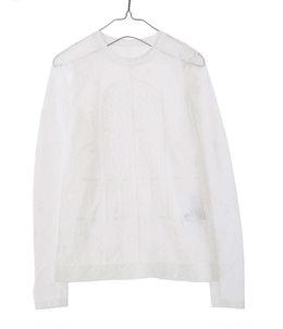 【レディース】Frosted Glass Graphic Knitted Top