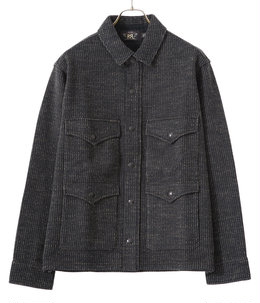 SHIRT JKT-LONG SLEEVE-KNIT CTN POLY ACRYLIC