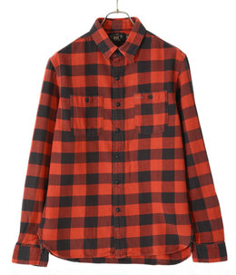 FARRELL WS-LONG SLEEVE-SPORT SHIRT COTTON TWILL PLAID