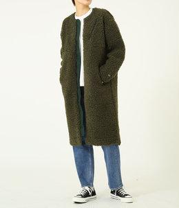 【レディース】Wool Boa Fleece Field Long Coat