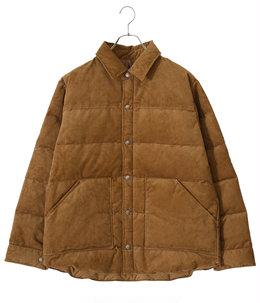 【予約】Corduroy Down Shirt Jacket