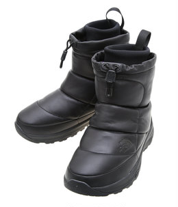 Nuptse Bootie WP Leather Knit Mid