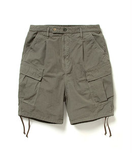 SOLDIER 6P EASY SHORTS COTTON RIPSTOP OVERDYED