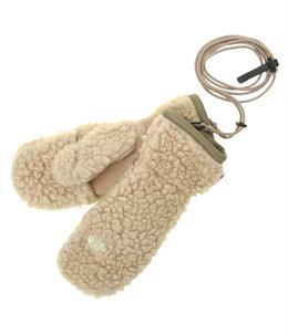 Wool Boa Fleece Mitt