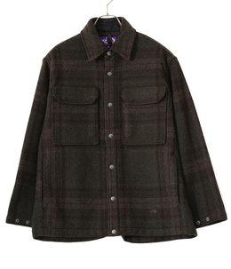 Plaid C.P.O Jacket