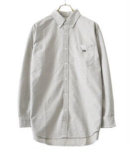 Cotton Polyester Stripe OX B.D. Shirt