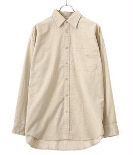 Organic Cotton Corduroy Big Shirt