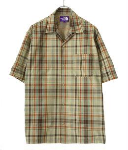 【予約】Madras Field H/S Shirt
