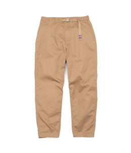 Stretch Twill Wide Tapered Pants