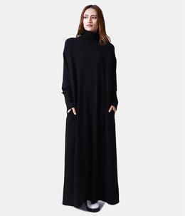 【レディース】MAT WOOL LONG TURTLE NECK DRESS