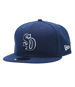NEW ERA×SD 59FIFTY LOGO CAP