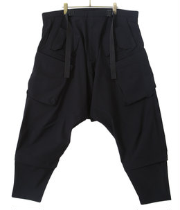 ultrawide Drawcord Cargo Trouser