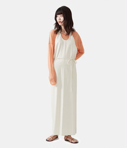 【レディース】Apron Dress - Raw Silk