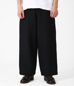 SASHIKO STRETCH WIDE PANTS