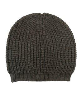 Knit tam - 2/12 cotton/wool air yarn -