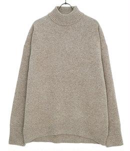 Mock neck knit