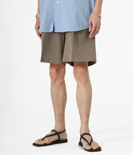 Tuck Wide Shorts