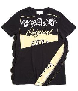 mas original tshirt with lettuce edge ruffle