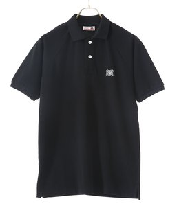 SD GIZA COTTON SHIELD LOGO POLO SHIRT