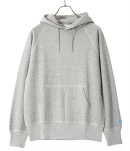 FRENCH TERRY PULLOVER PARKA