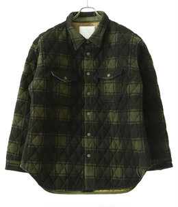 BLANKET CHECK SHIRT