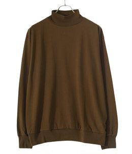 Silk Cotton 20/80 High-neck Big L/S