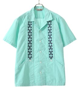 COOLMAX LINEN CHAMBRAY GUAYABERA SHIRT