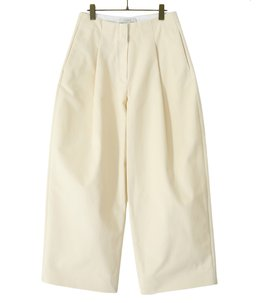 【予約】【レディース】PEACHED COTTONTWILL CONTINUITY PANTS