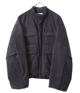 PADDED DEFORMABLE JACKET -CONCRETE-
