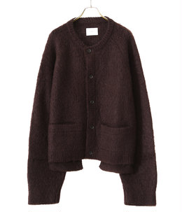 KID MOHAIR CARDIGAN