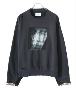 OVERSIZED REBUILD SWEAT LS