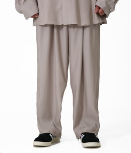 CUPRO WIDE TROUSERS