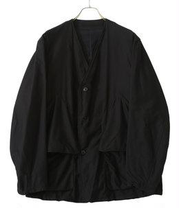 コットンサテン ハンティングジャケット