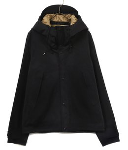 【予約】ANORAK PIECE DYED KNITTED NYLON/POLYESTER MICRO-FIBER THERMO ADHESIVE CONSTRUCTION