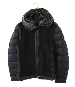 【予約】SHEARLING HOODED LINER WITH POCKET SHEARLING
