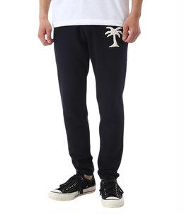 Cotton Fleece Track Pants with Ap