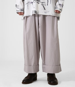 THE BAKER TROUSER POPLIN