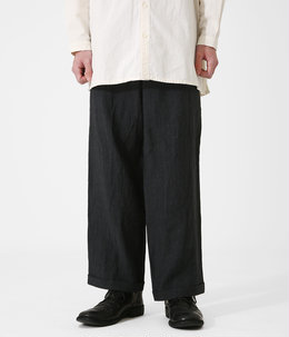 THE BRICKLAYER TROUSER -LAUNDERED LINEN-