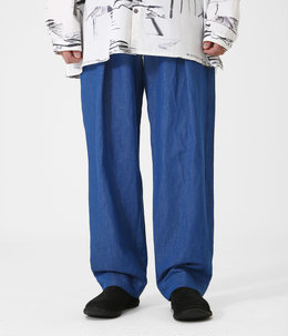THE DRIVER TROUSER -LINEN COTTON DRILL-