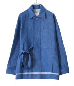 THE GLASSBLOWER JACKET -LINEN COTTON DRILL-