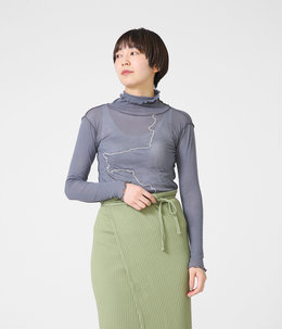 【レディース】GERRYMANDERED TURTLE NECK