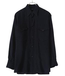 カシミヤ和紙 ワークシャツ