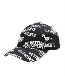 STAMPED LOGO CAP