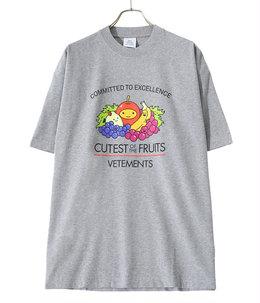 CUTEST OF THE FRUITS LOGO T-SHIRT