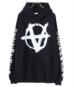 DOUBLE ANARCHY LOGO HOODIE