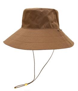 【レディース】RECYCLE POLYESTER VIYELLA WIDE BRIM BUCKET HAT